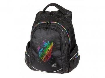 150473 studentsky batoh fame unicorn black