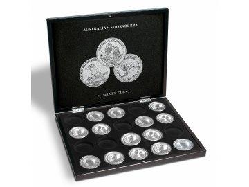 Kazeta na 20 mincí Kookaburra (1 oz.)