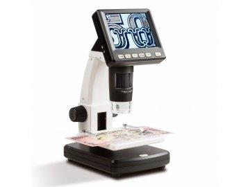 LCD digitální mikroskop DM3, 10x - 500x zvětšení