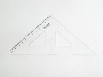 Trojúhelník 17cm LEVÁK