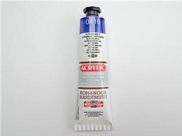 Barva 162717 0410 ultramarín akrylová 40