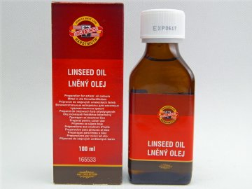 Olej lněný 100ml