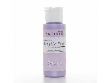 Barva akrylová 59ml lilla perleťová