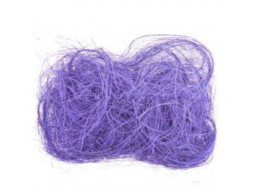 Sisalové vlákno 30g fialové