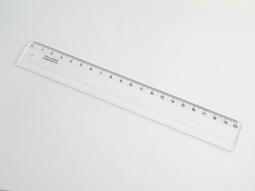 Pravítko 20cm čiré