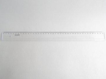 Pravítko 40cm čiré