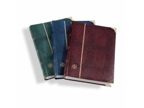 padded cover in a crocodile leather effect white pages