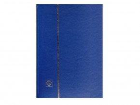 Album na známky A4 16 bílých stran MODRÉ 331380