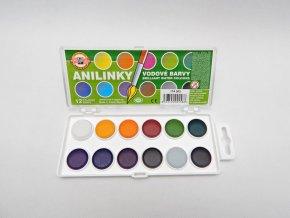 Barvy brilantní 12 ANILINKY