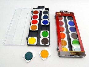 Barvy vodové 12 UMĚLECKÉ