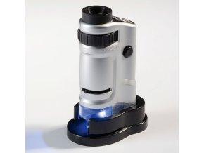 Mikroskop s osvětlením, 20x - 40x zvětšení