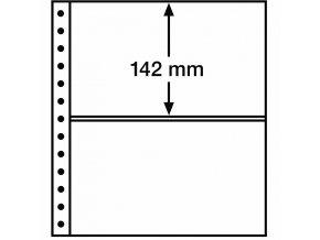 Albové listy R, 2 kapsy, 248 x 142 mm