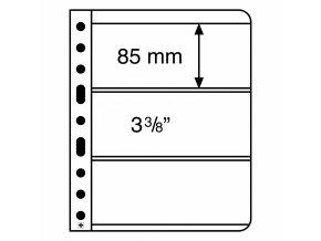 Albové listy VARIO, 3 kapsy, 195 x 84 mm