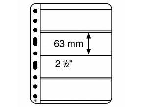 Albové listy VARIO PLUS, 4 kapsy, 195 x 63 mm
