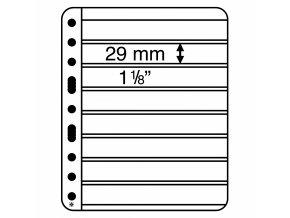 Albové listy VARIO PLUS, 8 kapes, 195 x 29 mm