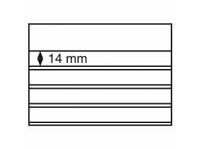 Volné karty, 4 řádky, 158 x 113 mm
