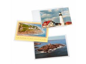 Ochranné fólie na dopisy a pohlednice
