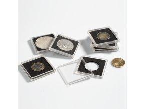 Bublinky na mince QUADRUM, 100 ks