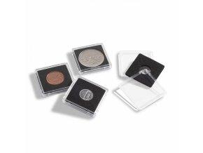 Bublinky na mince QUADRUM MINI, 10 ks