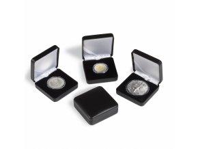 Etue NOBILE na mince v bublinkách CAPS, černé