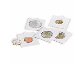 Samolepící rámečky na mince, 100 ks