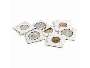 Sešívací rámečky na mince, 100 ks