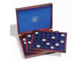 Kazeta na mince VOLTERRA TRIO DE LUXE, na 105 mincí v bublinkách