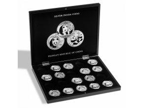 Kazeta na 20 mincí Panda (1 oz.)