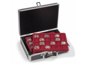 Kufr na plata na mince CARGO S6, červené plata