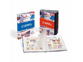 Album na známky STAMPS, A5, 32 bílých stran