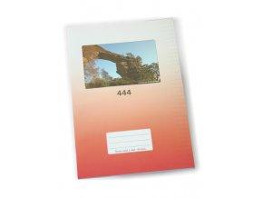 Sešit A4 444