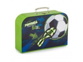 Kufřík 34cm fotbal