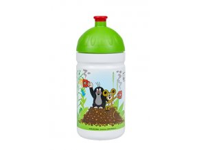 zdrava lahev krtek a jahody 0 5l zelene (1)
