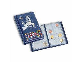 Kapesní album na mince ROUTE, 12 euro sad