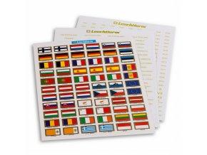 Samolepky EURO pro popis mincovních listů