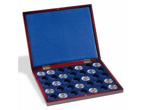 Kazeta na mince VOLTERRA UNO DE LUXE, na 35 mincí v bublinkách