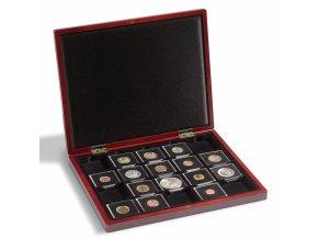 Kazeta na mince VOLTERRA na 20 mincí v bublinkách QUADRUM