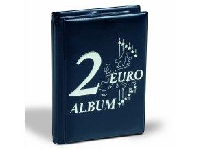 Kapesní album na mince ROUTE 2 EURO, 48 mincí