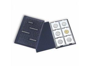 Kapesní album na mincovní rámečky ROUTE, 60 mincí