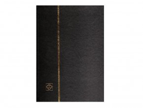 Album A4 na známky 16 bílých stran ČERNÉ 318548