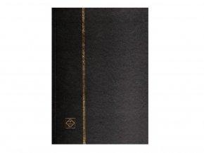 Album A4 na známky 32 bílých stran ČERNÉ 324812
