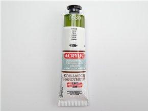 Barva 162737 0530 khaki akrylová 40ml