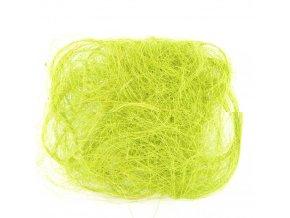 Sisalové vlákno 30g sv.zelené