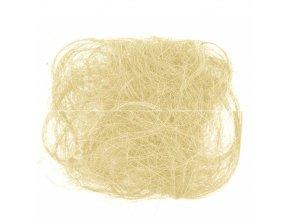 Sisalové vlákno 30g přírodní