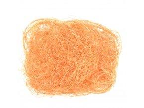 Sisalové vlákno 30g sv. oranžové