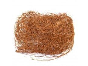 Sisalové vlákno 30g měděné