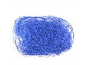 Sisalové vlákno 30g tm. modré