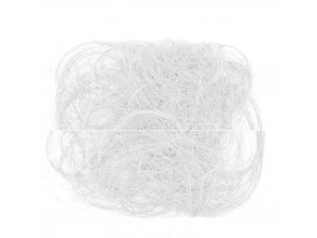Sisalové vlákno 30g bílé