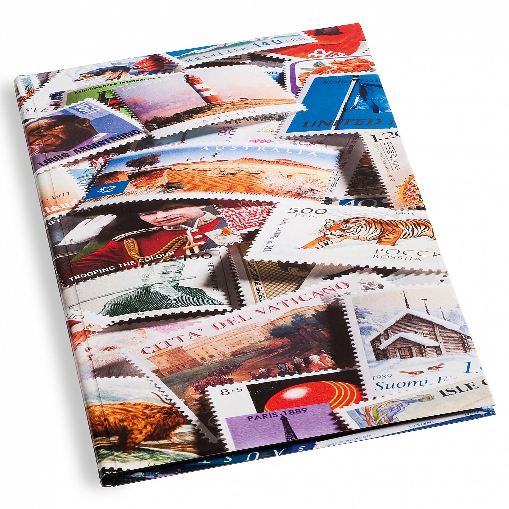 Album A4 na známky 32 černých stran
