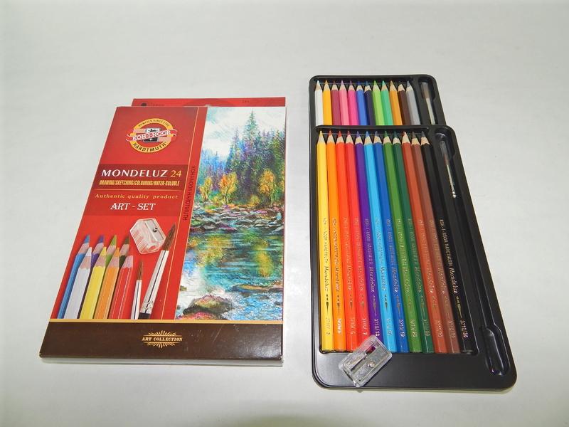 Pastelky akvarelové 3711/24